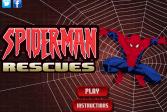 Играть Человек-паук спасает онлайн флеш игра для детей