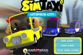 Играть Сим Такси Лотополис город онлайн флеш игра для детей