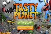Играть Съедобная планета онлайн флеш игра для детей