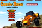 Играть Гонка по американским горкам онлайн флеш игра для детей