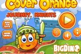 Играть Спаси апельсин: Путешествие рыцарей онлайн флеш игра для детей