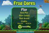 Играть Приключения лягушки онлайн флеш игра для детей