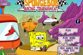 Играть СпанчБоб гоночный турнир онлайн флеш игра для детей