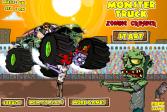 Играть Монстр Трак дробилка зомби онлайн флеш игра для детей