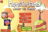 Играть Монстерленд Младший против Старшего онлайн флеш игра для детей