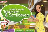 Играть Представь себя художником онлайн флеш игра для детей