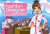 Играть Модный дизайнер: Моровое турне онлайн флеш игра для детей