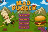 Играть Злой бургер онлайн флеш игра для детей