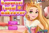 Играть Макияж для Рапунцель онлайн флеш игра для детей