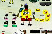 Играть Модный Губка Боб онлайн флеш игра для детей