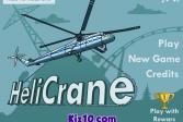 Играть Вертолет-кран онлайн флеш игра для детей