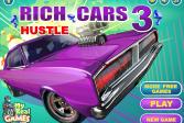 Играть Богатые Автомобили 3 Хастл онлайн флеш игра для детей