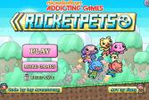 Играть Ракеты домашние животные онлайн флеш игра для детей