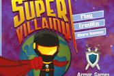 Играть Супер Злодейство онлайн флеш игра для детей