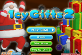 Играть Ледяные подарки 2 онлайн флеш игра для детей