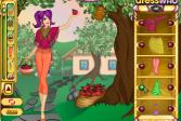 Играть Сбор яблок онлайн флеш игра для детей