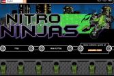 Играть Нитро ниндзя онлайн флеш игра для детей