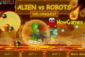 Играть Пришелец против роботов: Завоевание онлайн флеш игра для детей