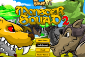 Играть Монстр отряд онлайн флеш игра для детей