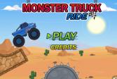 Играть Поездка на грузовике монстре онлайн флеш игра для детей