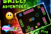 Играть Приключение смайла онлайн флеш игра для детей