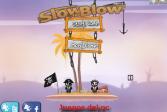 Играть Пираты: Замедляй и взрывай онлайн флеш игра для детей