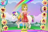 Играть Рай пони онлайн флеш игра для детей