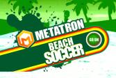 Играть Метатрон - Пляжный футбол онлайн флеш игра для детей