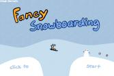 Играть Необычный сноуборд онлайн флеш игра для детей