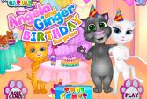 Играть Анжела и Джинджер. Сюрприз на День рождения онлайн флеш игра для детей
