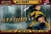 Играть Росомаха и люди Х: побег онлайн флеш игра для детей