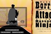 Играть Бакк Боррис - Атака на ниндзей онлайн флеш игра для детей