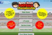 Играть Спортивные головы: Футбольный Чемпионат онлайн флеш игра для детей