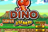 Играть Суперпрыжок динозавра онлайн флеш игра для детей
