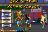 Играть Барт Симпсон Взрыватель Зомби онлайн флеш игра для детей
