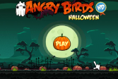 Играть Сердитые птицы и Хэллоуин онлайн флеш игра для детей