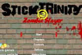 Играть Троица Стикменов 2: Убийца зомби онлайн флеш игра для детей