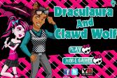 Играть Гардероб для Дракулауры и Клода-волка онлайн флеш игра для детей