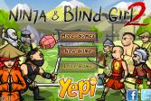 Играть Ниндзя и слепая девочка онлайн флеш игра для детей