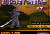 Играть 3-футовый ниндзя 3онлайн флеш игра для детей