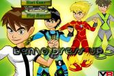 Играть Одежда для Бена 10 онлайн флеш игра для детей
