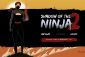 Играть Тень ниндзи 2 онлайн флеш игра для детей