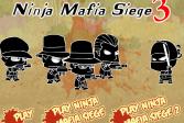 Играть Ниндзя: Осада мафии 3 онлайн флеш игра для детей