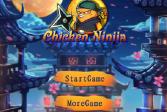Играть Цыпленок-ниндзя онлайн флеш игра для детей