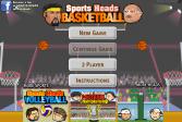 Играть Спортивные Головы: Баскетбольный чемпионат онлайн флеш игра для детей