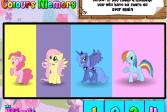 Играть Мои маленькие пони: запоминай цвета онлайн флеш игра для детей