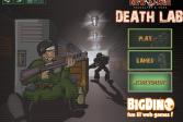 Играть Лаборатория смерти онлайн флеш игра для детей