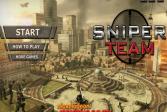 Играть Команда снайпера онлайн флеш игра для детей