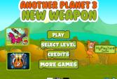 Играть Другая планета 3: Новое оружие онлайн флеш игра для детей