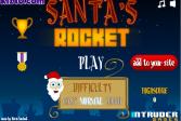 Играть Ракета Санты онлайн флеш игра для детей